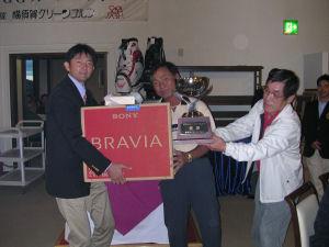 総合の部優勝の西村さん
